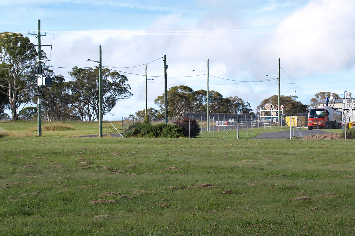 Tenterfield Industrial Estate - Blocks available; Photo by Ruth Offer
