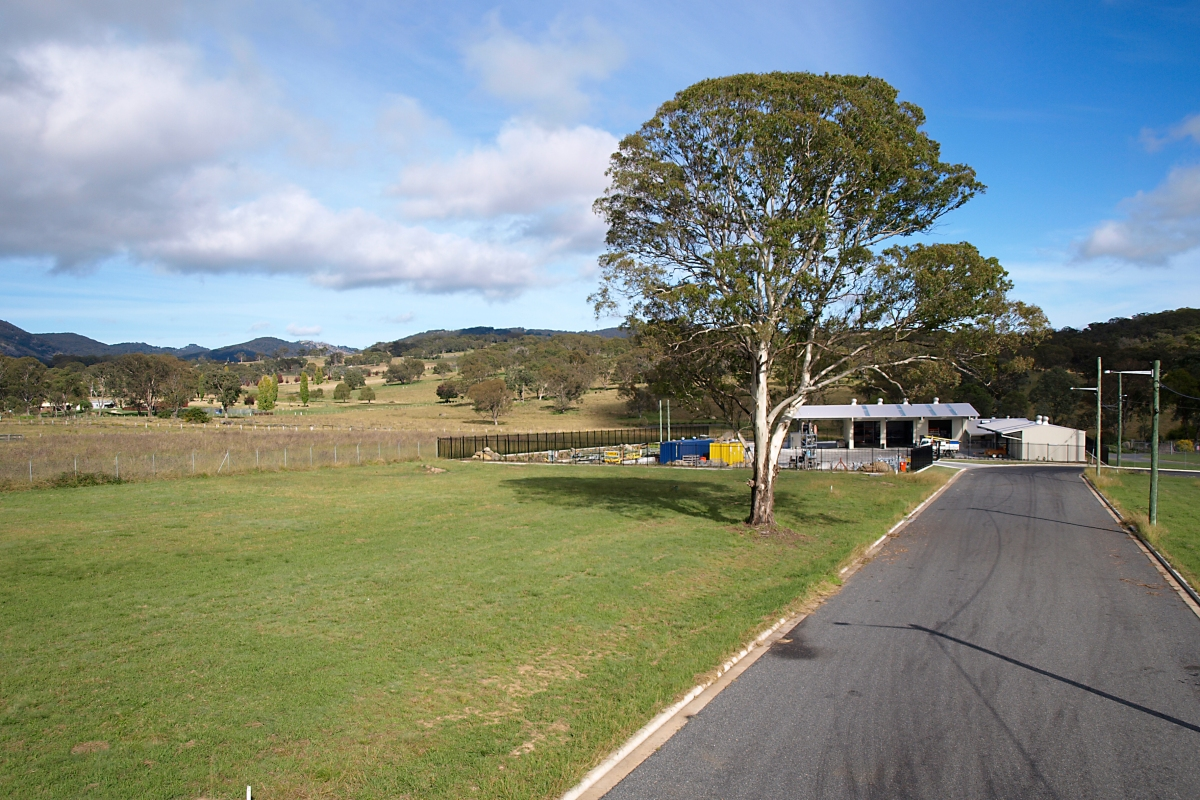 Tenterfield Industrial Estate Blocks for Sale; photo by Ruth Offer