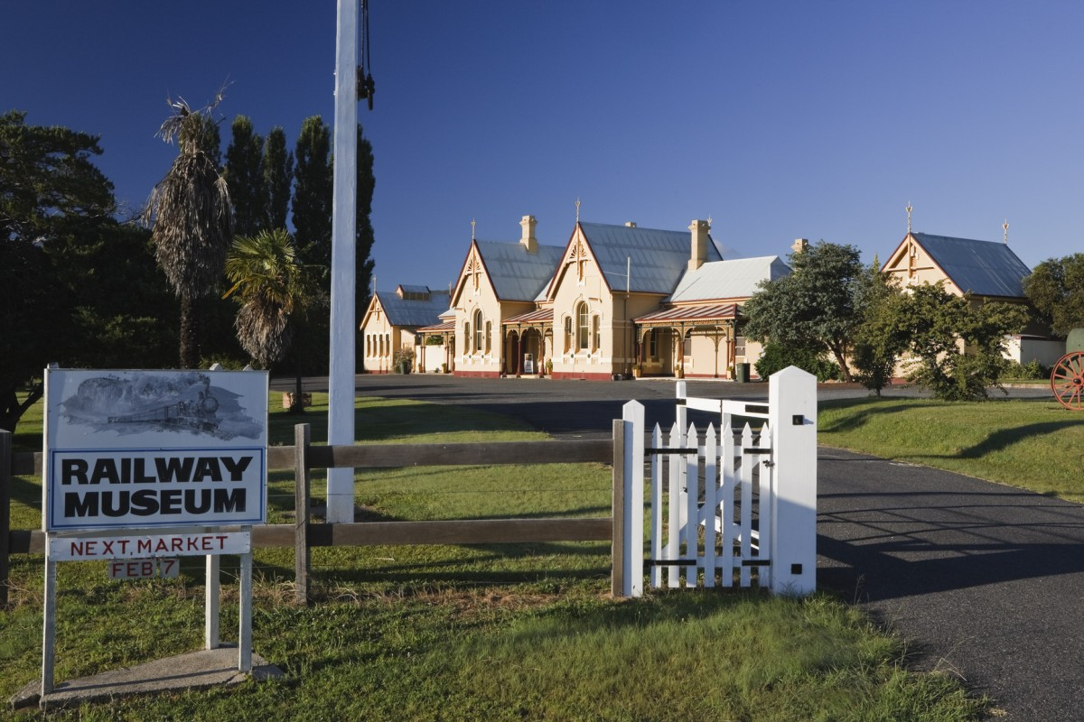 Tenterfield Railway Museum - Photo by Paul Foley; Destination NSW